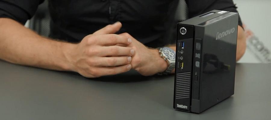 Duża moc w małej obudowie – test Lenovo ThinkCentre M93p TINY